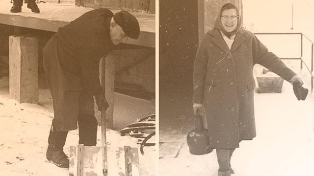 1961 Der erste Abfüller und die erste Kundin
