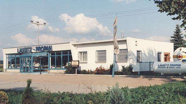 1993 Bau und Einweihung des neuen Gebäudes